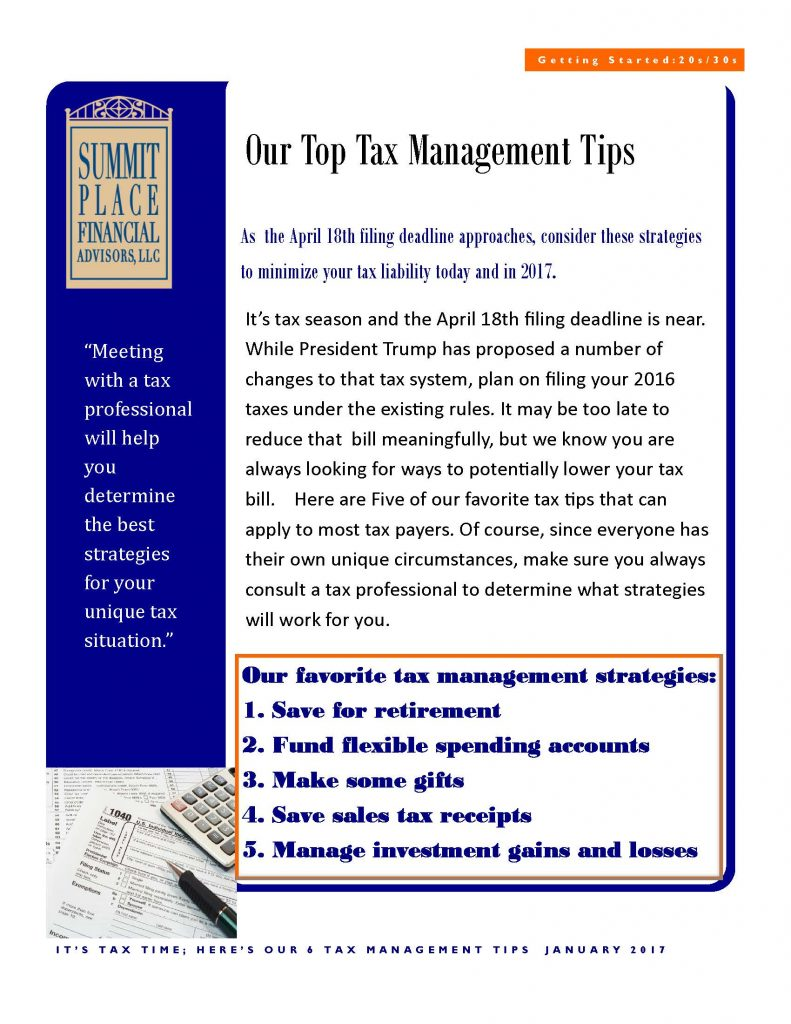 2017 Tax Tips How Should You File Your Taxes Accounting Calculator Irs
