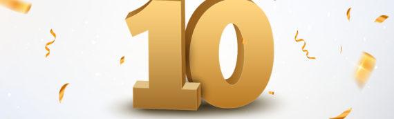 Celebrating 10 Years!